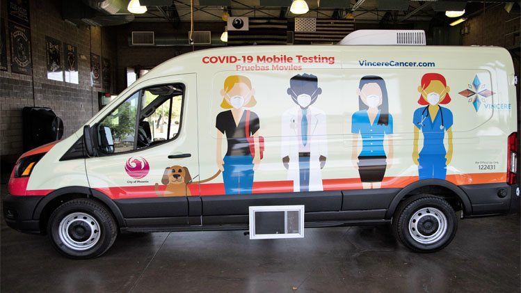 Phoenix is partnering with Vincere Cancer Center to offer free COVID-19 testing to city residents in traditionally underserved communities. Testing is being conducted out of a mobile van—the first of its kind in Arizona. Vincere trains its medical staff to provide both viral and antibody tests for the virus. The more common viral tests take […]